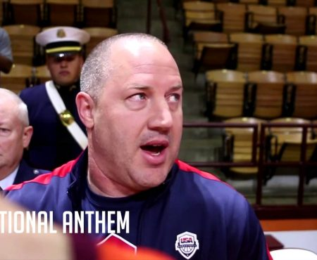 PHIL'S FAV: Coach Buzz Williams Teaches Respect for the National Anthem, in 2015