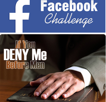 "FIVE MIN. POWER MESSAGE #13: Denying the ""Deny Me"" Challenge, 8-28-16"