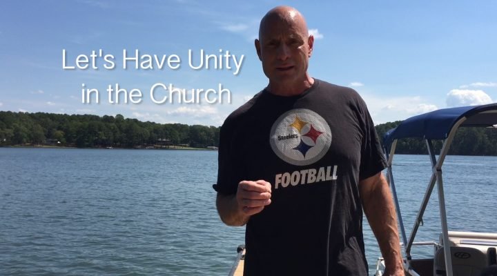 FIVE MIN. POWER MESSAGE #16: Let's have unity in the Church, 9-26-16