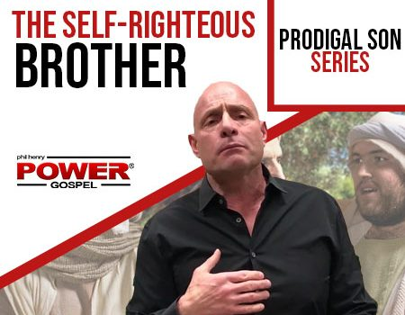 FIVE MIN. POWER MESSAGE #40: Don't be the Self-Righteous Brother! (Prodigal Son Series)