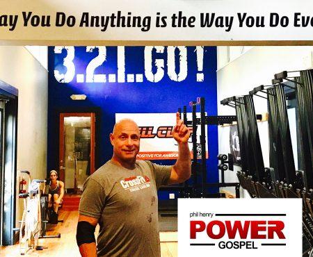 FIVE MIN. POWER MESSAGE #45: CrossFit Wisdom, 8-6-17