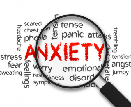 FIVE MIN. POWER MESSAGE #56: Anxiety Out. Peace In. 11-26-17