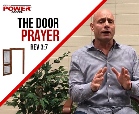 FIVE MIN. POWER MESSAGE #59: Confidence in the Door Prayer, 1-21-18
