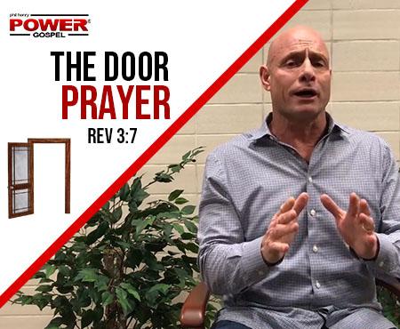 FIVE MIN. POWER MESSAGE #59: Confidence in the Door Prayer, 1-21-18