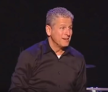 Louie Giglio talks about Laminin (what?)