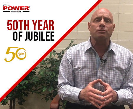 FIVE MIN. POWER MESSAGE #68: The Year of Jubilee, does it benefit me?  7-7-18