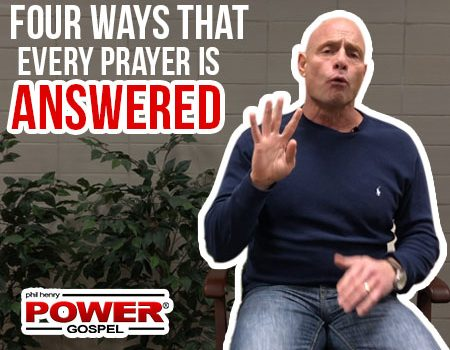 FIVE MIN. POWER MESSAGE #80: Every Prayer Answered, 1-27-19