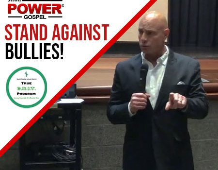 POWER MESSAGE SPECIAL #91: Anti-Bullying Talk to 8th Graders