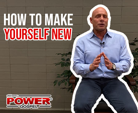 FIVE MINUTE POWER MESSAGE #99: How to Make Yourself NEW
