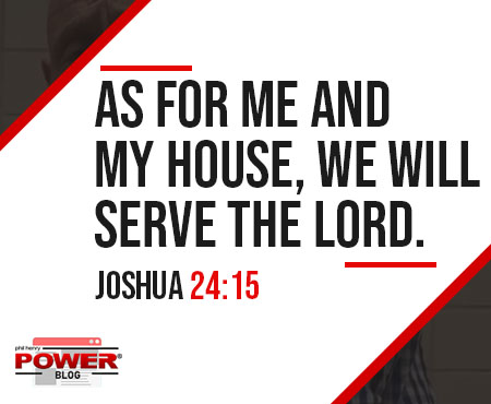 To Serve the Lord or Not. Joshua did. POWER BLOG #24