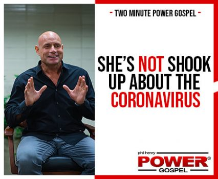 TWO MINUTE POWER MESSAGE #105: She's not SHOOK up about the Coronavirus!