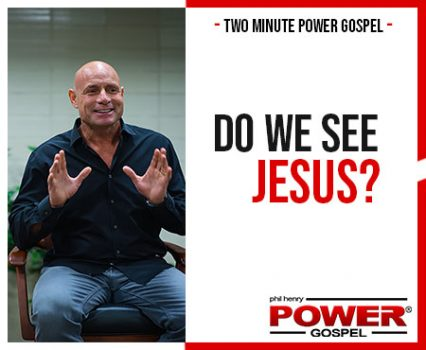 TWO MINUTE POWER MESSAGE #103: Do We See Jesus (in the Coronavirus Crisis)?