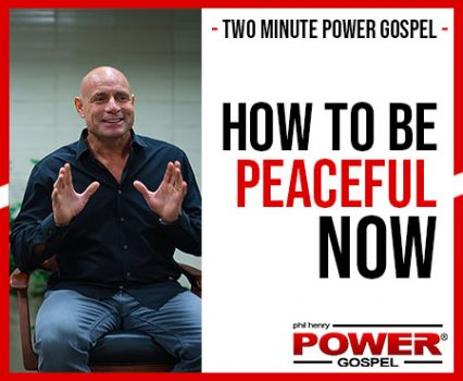 TWO MINUTE POWER MESSAGE #108: How to be Peaceful Now