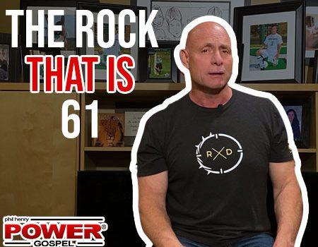 FIVE MINUTE POWER MESSAGE #111: The Rock that is 61 (feat. Mason Key)