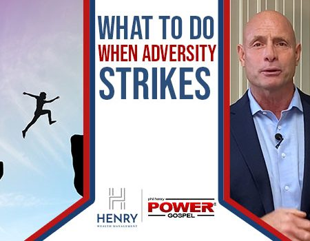 FIVE MINUTE POWER MESSAGE #115: What to do when adversity strikes?
