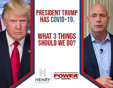FIVE MINUTE POWER MESSAGE #115: Pres. Trump has COVID-19; What 3 things should we do?